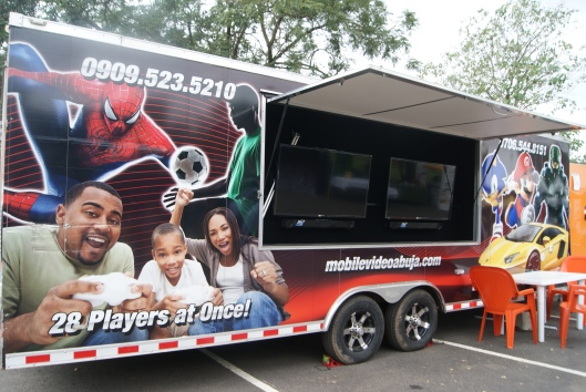 Mobile Gaming Truck